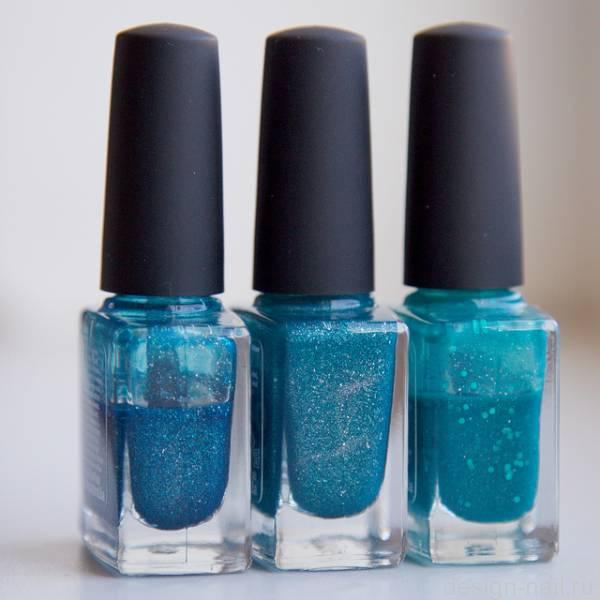 Сравнение Picture Polish: Ocean, Calm, Lagoon